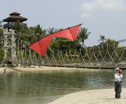 Little Red on Sentosa Island