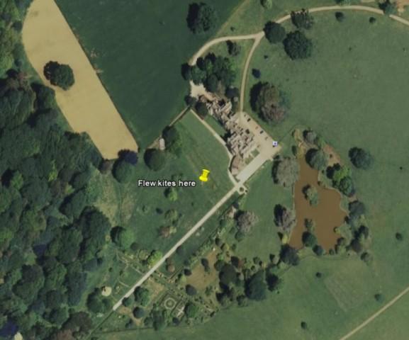 Dumbleton Hall Map