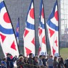 CB 2013 - RAF Banners before Monument.jpg