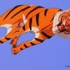 3 D tiger kite Adk ashok De