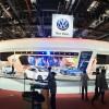 VW exhibition area