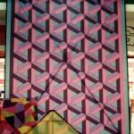 An Escher design on a 14ft x 11 ft Della Porta