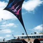 Another large 17 ft x 9ft diamond kite