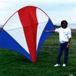 A 10 ft x 8 pocket kite