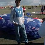 Soft/Flexible Kite: Dean Jordan