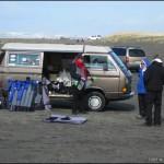 Steve de Rooy's kite mobile...