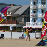 How cool to see so many various kite disciplines represented in one space!