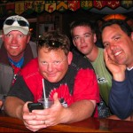 Steve de Rooy, Bazzer Poulter, JD Fabich, and Dave Hadzicki