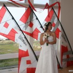 The bride with her Pro suite...