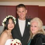 TK, John and Gayle