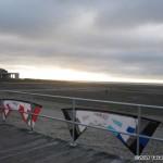 John and TK Barresi's kites at rest...