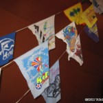 Phil Broder's kite t-shirt flags...