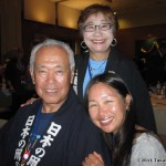 TK Barresi with Masaaki and Sachiko Modegi...