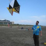 Another unique handmade kite...