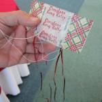 Jim Martin's miniature kite...