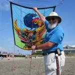 John Pollock, fantastic kite art!