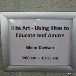 Glenn Davison kite workshop