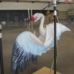 Beautiful bird puppet by Heather Henson