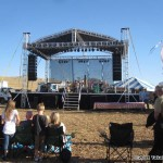 The main stage, live music and a small flying area!