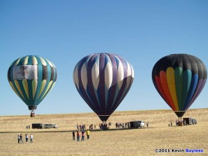 Beautiful balloons at Antelope Island...