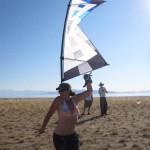 John Barresi teases Nic O'Neill with his Rev kite...