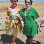 Penny and Bethany, fairy queens!