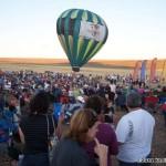 The balloon flights are super-popular...