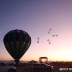iQuad, balloon, sunset, Antelope Island... Beautiful!