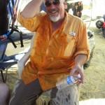Ron Gibian gets we on Antelope Island!
