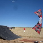 Spence Watson working the BMX ramps at Antelope Island...