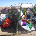 Kite camp at Antelope Island...