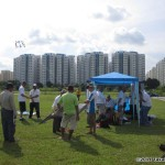 Fliers gather at Punggol field...