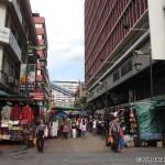 Entering China Town in Kuala Lumpur