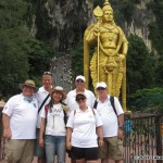 iQuad at the stairs to Batu Caves