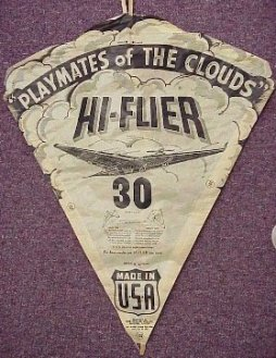 "Hi-Flier Playmate of the Clouds 30"" kite"