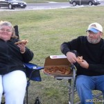 Pizza Time, Kathy and TeeCee