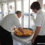 Full size paella pan
