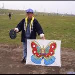 Ogawa-san and his very colorful Tawara fighting kite