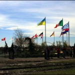 T-Peace Garden - Flags