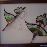Traditional Bamboo frame and paper kite