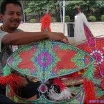 Traditional Malaysian Kite Maker