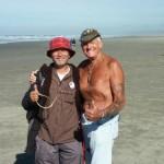 "Mikio Toki and Ray Bethell sharing the ""Good Stuff""!"
