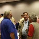 Brian Champie, John Gabby and Ron Gibian at leisure.