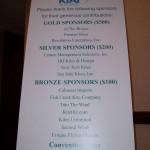 KTAI show sponsors