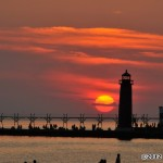 Sunset in Grand Haven