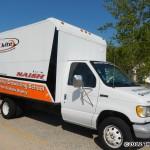 The Mackinaw Kites truck