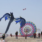 Beautiful dragon kite flown by Dale Ray
