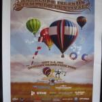 2011 Antelope Island Stampede poster