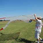 574 - Park Fleming's bubble wrap kite