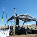 Big stage and live music